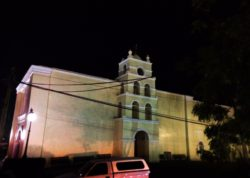 Mission Todos Santos at Night Baja California Sur 1