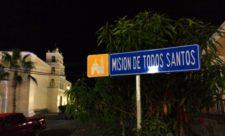 Mission Todos Santos at Night Baja California Sur 2