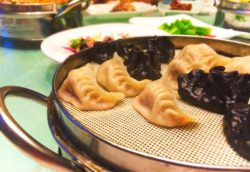Steamed Dumplings food Xian 1