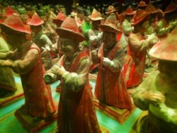 Army of statues in Xian Cultural History Museum