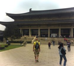 Rob Taylor in Xian Cultural History Museum
