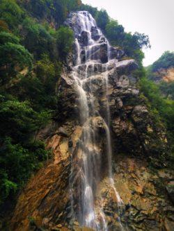 Waterfall at Taibai Mountain National Park 1