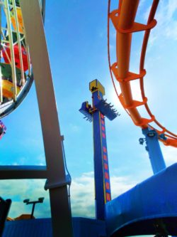 Amusement Park Rides on Santa Monica Pier 1 V