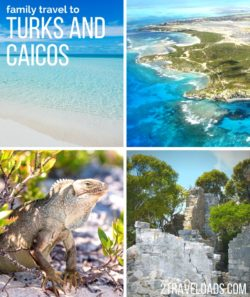 Family travel to Turks and Caicos is a dream trip with wildlife, snorkeling, perfect beaches and national parks read for exploring. 2traveldads.com