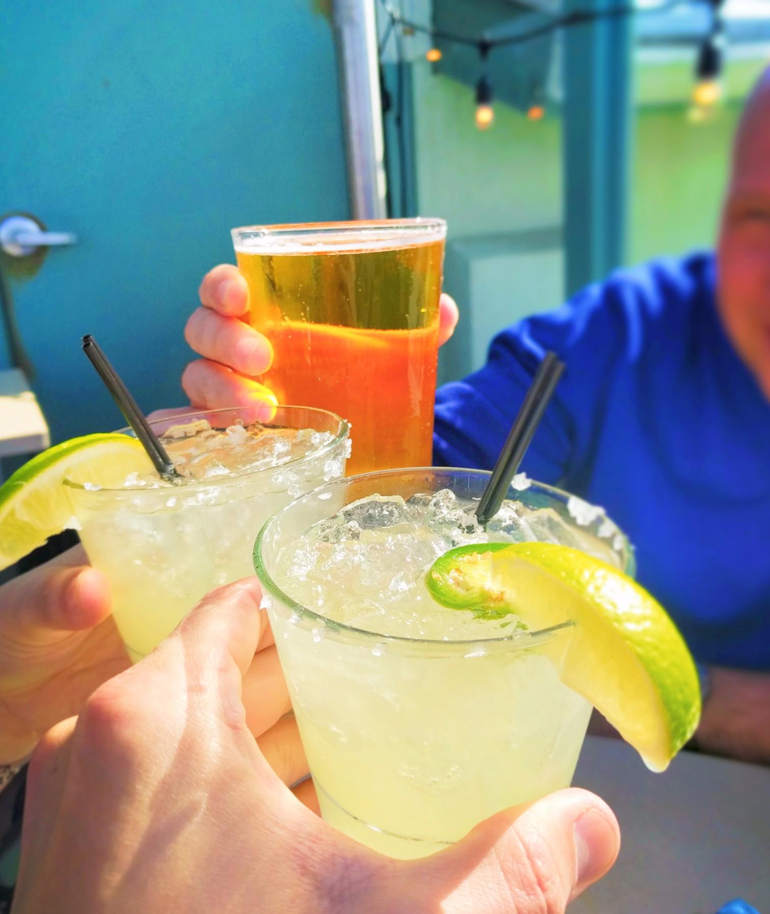 Jalapeno Margaritas at Ristorante Al Mar on Santa Monica Pier 2