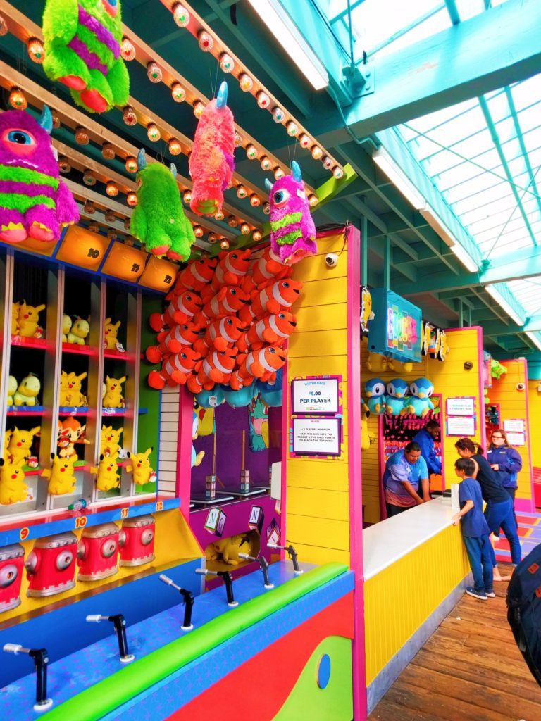 Pier 1 Fitness midway games at santa monica pier 1 - 2 travel dads