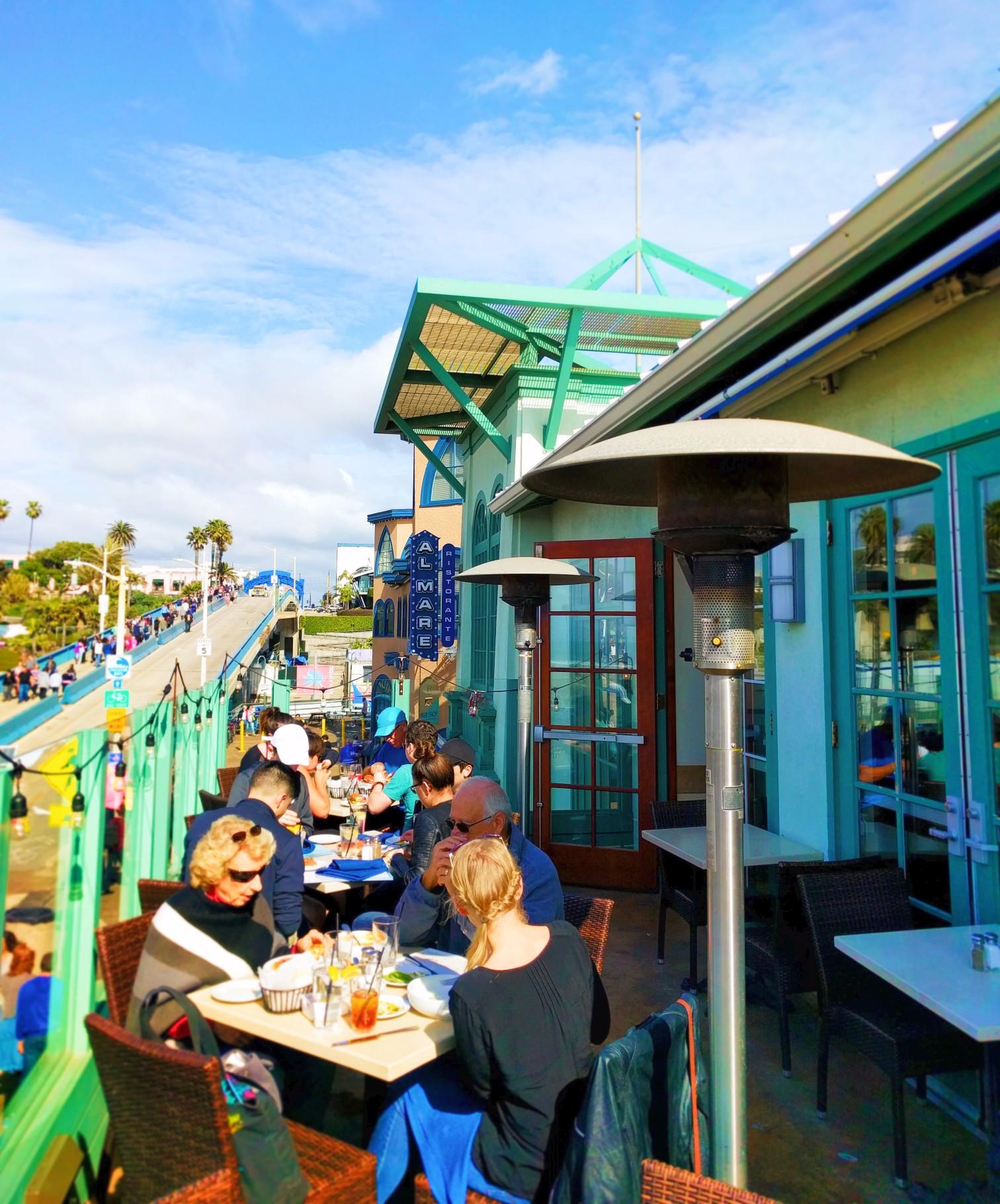 Ristorante Al Mar on Santa Monica Pier 2