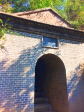 Staircase at Watchtower Drumtower at Baota Pagoda Yanan Shaanxi 1