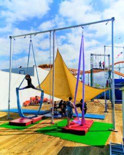 Trapeze School New York on Santa Monica Pier 2