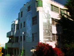 Art Deco building on Telegraph Hill San Francisco 1