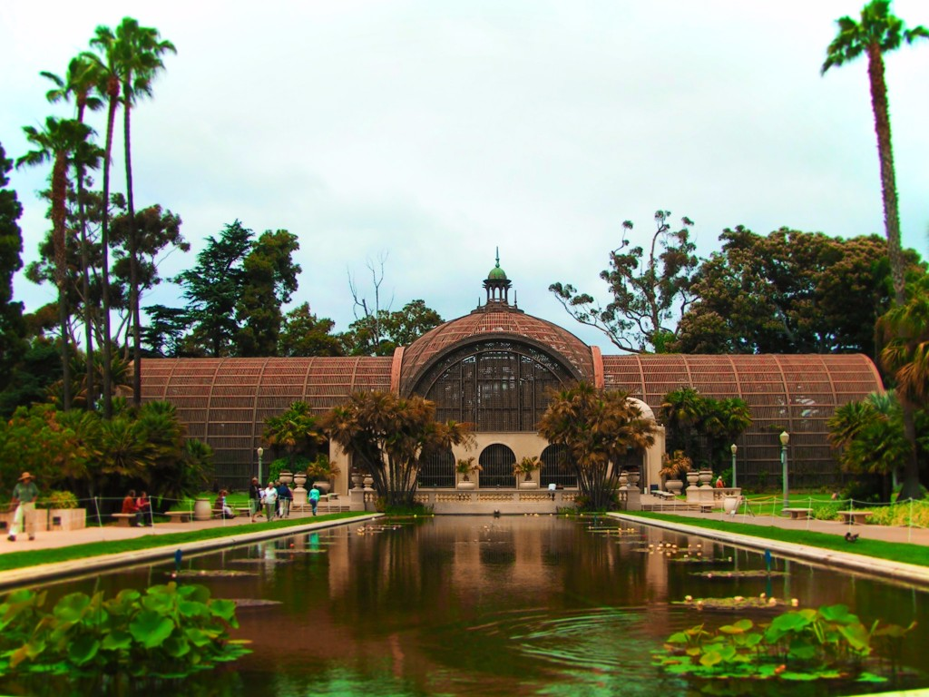Balboa Park Conservatory San Diego 1 - 2 Travel Dads