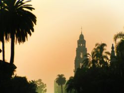 Bell Tower In Balboa Park San Diego 2