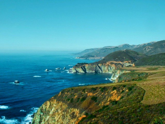 Bixby Bridge Big Sur Coast California 1