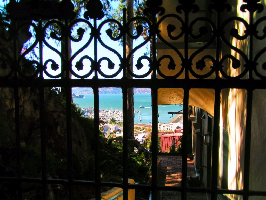 Iron Gate on Telegraph Hill San Francisco 1