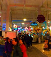 Neons in Grand Central Market Los Angeles 1