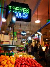 Neons in Grand Central Market Los Angeles 3