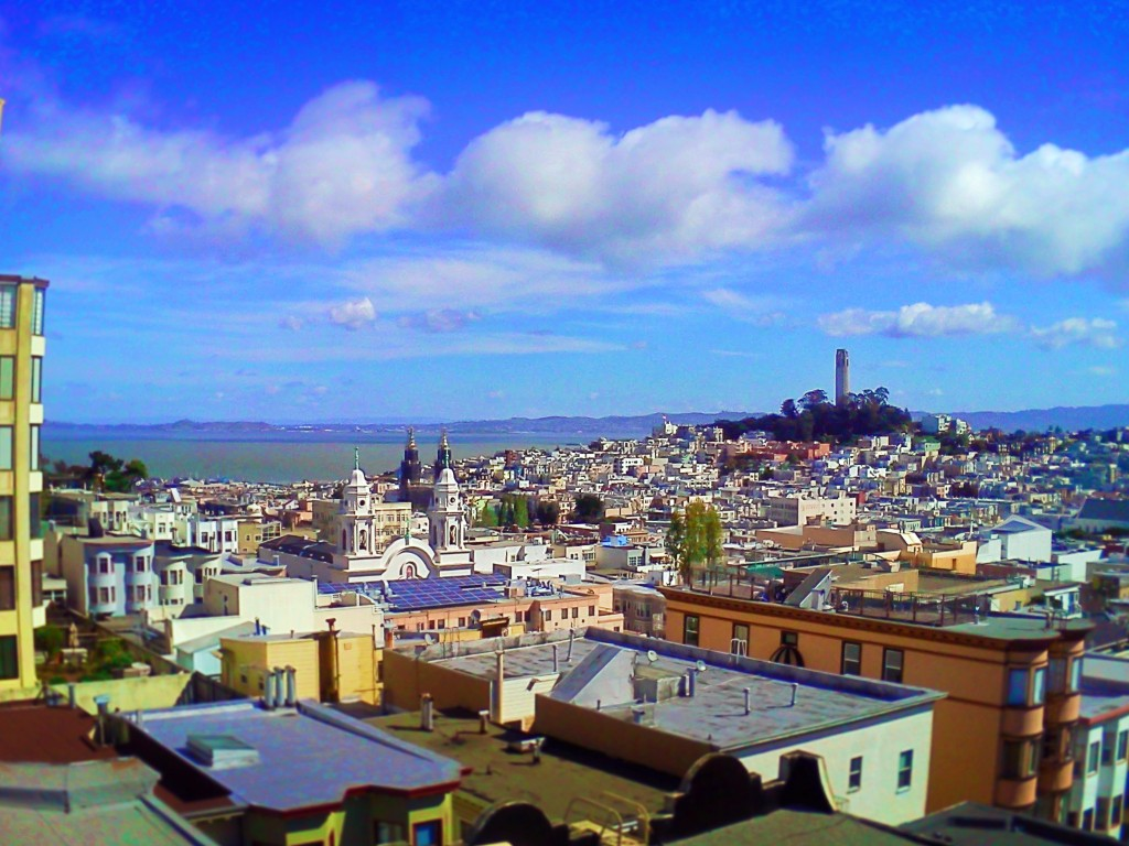 North Beach from Russian Hill San Francisco 1