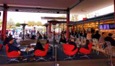 Outdoor Cafe at LACMA Los Angeles 2