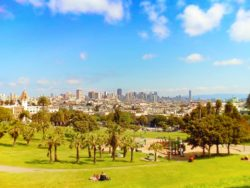 View from Delores Park San Francisco 2