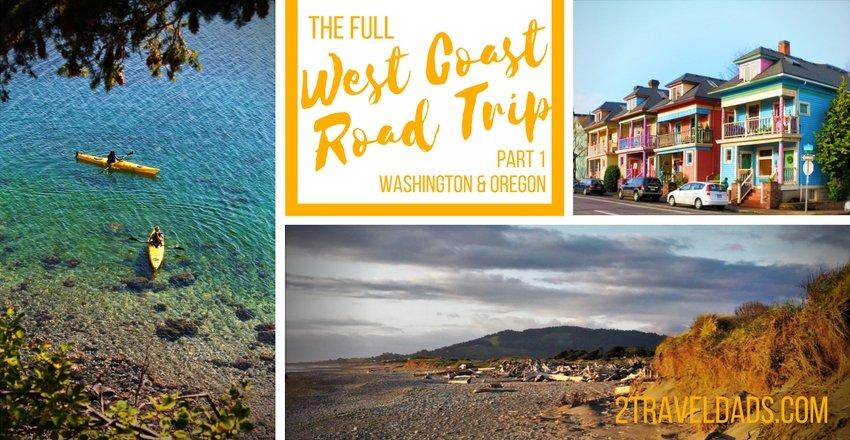 West Coast road trip itinerary: exploring Washington & Oregon