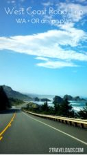A USA West Coast road trip is the dream of travelers around the world, particularly exploring Washington and Oregon. From mountains to beaches, cities to small towns, planning a trip down the coast is easy! 2traveldads.com