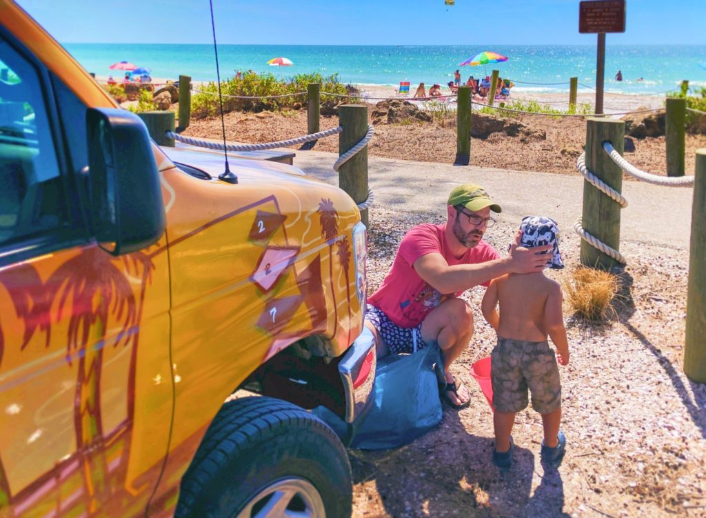 Escape Campervan at Bradenton Beach Manatee County Florida 1