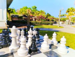 Giant Chess at Plantation on Crystal River 1