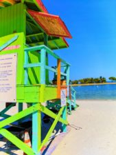 Lifeguard Station at Biscayne Miami Dade County Park 1
