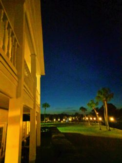 Sunset at Plantation on Crystal River Florida 1