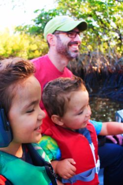 Taylor Family at Airboat Ride Everglades City Florida 4