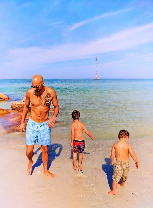 Taylor Family at Fort De Soto Park St Pete Beach Florida 1