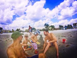 Taylor Family at Fort Myers Beach 3