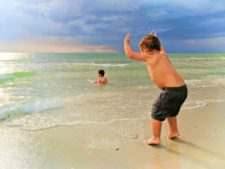 Taylor Family at Naples Beach Florida 7