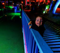 Taylor Kids and Colorful Marina at Island of Capri Naples Florida 1