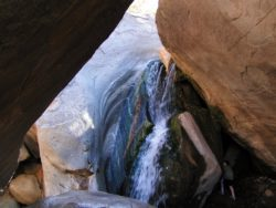 Waterfall in Indian Canyons at Agua Caliente Palm Springs 2