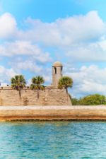 Castillo de San Marcos from Matanzas River during St Augustine Ecotours 1
