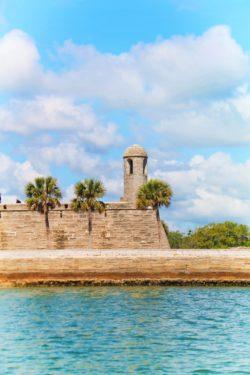 Castillo de San Marcos from Matanzas River during St Augustine Ecotours 1