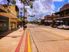 Downtown DeLand Florida Daytona Beach area 1