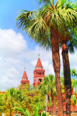 Flagler College Towers Downtown St Augustine 1