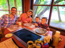 Taylor Family at Old Sugarmill Restaurant De Leon Springs State Park Daytona Beach 6