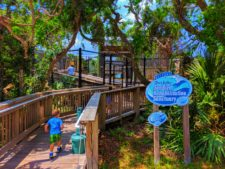 Taylor Family at Ponce Inlet Marine Science Center Bird Recovery 2