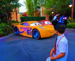 Cruise Ramirez and Lightningh McQueen backstage at Cars 3 Premiere After Party 2017 1