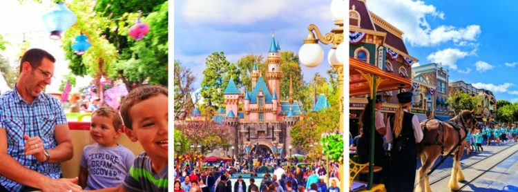 Disneyland tips for planning an awesome vacation, from where to stay to planning a day. How to take the stress out of a Disney vacation. 2traveldads.com