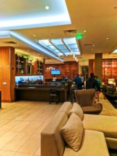 Lobby of Hyatt House Anaheim Disneyland 1