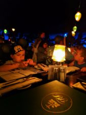 Taylor Family at Blue Bayou Restaurant Pirates of the Caribbean New Orleans Square Disneyland 1