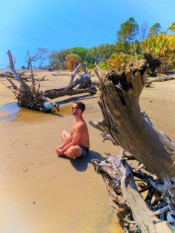 Taylor Family at Driftwood Beach Jekyll Island Golden Isles 9
