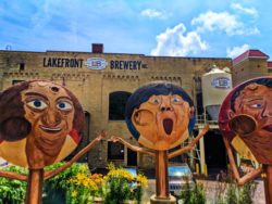 Exterior at Lakefront Brewing Co Milwaukee Wisconsin 1