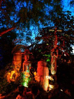 Hawaiian Gods Tiki Room Adventureland Disneyland 3