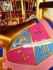 Mary Poppins horse Jingles on King Arthurs Carousel in Fantasyland Disneyland 1