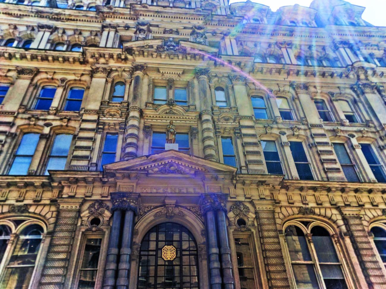 Ornate building in Historic Third Ward Milwaukee Wisconsin 1